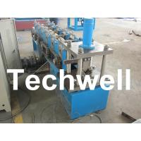 Hydraulic Cutting, 8 - 11 Stations, Steel Angle Roll Forming Machine TW-L50 Manufactures