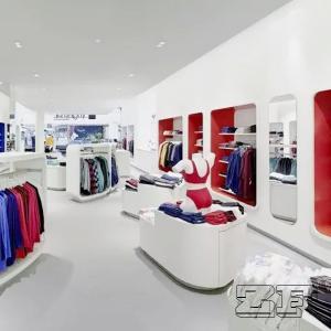 Delicate display furniture retail sports shop design Manufactures