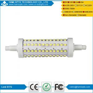 15W R7s Led Lamp Slim dia29X189mm 360 Degree Beam LED R7S Manufactures