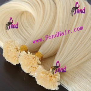 100% Virgin Remy Hair U Tip Hair Extension Manufactures