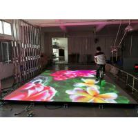 Interactive Eye - Catching Stage LED Display With Flexible , Flat And Sturdy Surface Manufactures