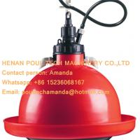 Red Orange Automatic Plasson Chicken Waterer & Drinker for Poultry Farm for Chicken Deep Litter System(Plastic) Manufactures