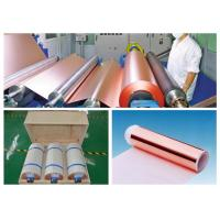 0.009mm High Ductility Hte Copper Foil , None Pinholes Copper Foil Tape Manufactures
