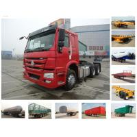 HOWO 6x4 10 wheels tractor truck (371hp/ one sleeper) Manufactures
