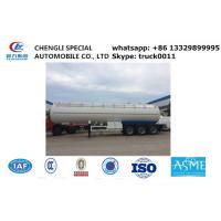 ASME lpg gas trailer with sun-shield for sale, factory direct sale cheapest propane gas trailer with sunshield cover Manufactures