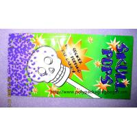 Custom Colored Popsicle Packaging Bags , Plastic Chocolate Bags Manufactures