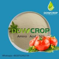 DOWCROP  High   Quality   100%  Water  Soluble Fertilizer  Amino  Acid  Yellow  Powder  50%  Plant   Source Manufactures