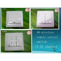 86 touch wireless remote control switch (1-3)channel to be selected Manufactures
