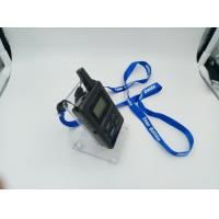 E8 Ear Hanging Wireless Audio Guide System , Black Simultaneous Translation Device Manufactures