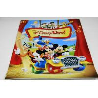 Full Color Saddle Stitch Book Binding / Disney Magazine Printing Service Manufactures