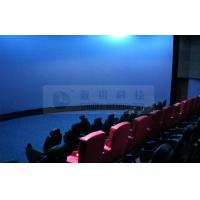 Immersive Digital 3D 4D theatre system , outdoor theme park simulators 3D movies with 5.1 audio system Manufactures