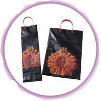 Personalized Plastic Wine Bags for Whisky / Whiskey / Japanese Sake Manufactures