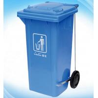 Quality 120L Foot pedal Side wheel Garbage Bin / Room Service Equipments Environment Protection for sale