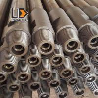 Tungsten Carbide Pre Hardened Drill Rod Thread Types With Hex 22 - 25mm Diameter Manufactures