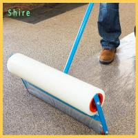 Floor Carpet Protection Film Transparent Printable Self Adhesive Protective Roll Manufactures