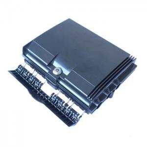 16mm Cable Diameter 8 Core Fiber Optic Terminal Box Black Colour