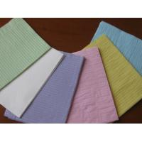 Disposable Dental Bibs by two ply of woodpulp paper and one ply of pe film Manufactures
