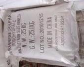 98% Min Purity Manganese Sulfate Powder Used For Electrolytic Production Manufactures