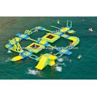 Promotional Inflatable Water Park , Inflatable Water Fun For Outdoor Sports Manufactures
