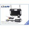 Mobile UAV Video Wireless Transmitter Qpsk Modulation DC 12V CE Manufactures