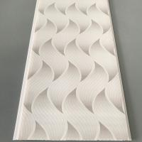 Flat Pvc Panels For Ceiling , Waterproof Bathroom Ceiling Panels Brilliant Printing Manufactures