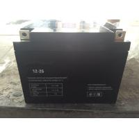 Solar Power 26ah 12v Deep Cycle Gel Battery Black , Long Cycle Life Manufactures