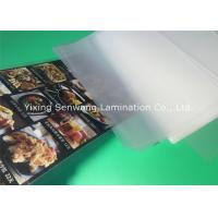 Gloss A5 Laminated Pouches , Heat Seal Laminating Pouches 150 Micron Thickness Manufactures