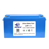 green technology lithium battery 12V 150Ah LiFePo4 solar storage battery pack Manufactures