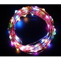 Colorful DIY Solar LED String Lights Waterproof No Electrical Wiring Required Manufactures