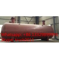 hot sale best price 12.7tons surface lpg gas storage tank, 32,000L bulk surface lpg cooking gas propane tank for sale Manufactures