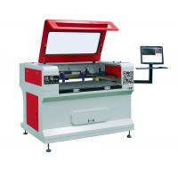Small Leather Etching Machine Biaxial Asynchronous Manufactures