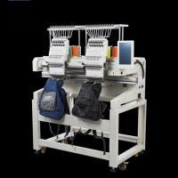 China 6/9/12/15 Needles Double Head Embroidery Machine , Hat Embroidery Machine on sale