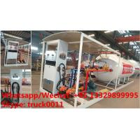 Quality China high quality and lower price 2.5tons-10tons mobile skid lpg gas refilling for sale