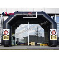 Black PVC Inflatable Archway Zone Inflatable Entrance Arch Pumpkin Arch Manufactures
