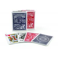 Tally-Ho Marked Playing Cards Plastic Invisible Ink Poker Cheating Cards Manufactures