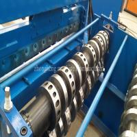 Advanced Cold Roll Forming Machine , Floor Deck Forming Machine With Hydraulic Cutting Manufactures