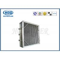 Horizontal And Vertical Style Boiler Spare Parts , Tubular Steam Air Preheater For Boiler Manufactures