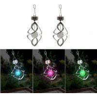 Color Change Solar Garden Lights Solar Powered Wind Chime Light For Balcony / Window Manufactures