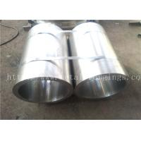 Forged Pipe metal sleeves S235JRG2 1.0038 EN10250-2:1999 for Steam Turbine Guider Ring Manufactures