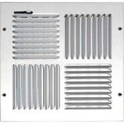 Round Zero Degree Linear Bar Grille Manufactures