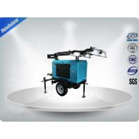 Buy cheap Contruction Emergency Portable 6-7kw 50Hz Mobile Light Tower , Trailer Mounted from wholesalers
