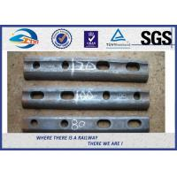 Oiled / Oxide Black Rail Joint Bar / Fishplates With GB Standard Manufactures