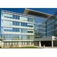Quality High Strength Lightweight Aluminum Glass Curtain Wall Corrosion Resistant for sale