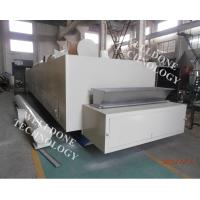 Electric Heating Conveyor Belt Dryer Button Control For Fruit / Vegetable Drying Manufactures