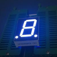 Instrument Panel 7 Segment LED Display Single Digit 0.8 Inch Low Power Consumption Manufactures