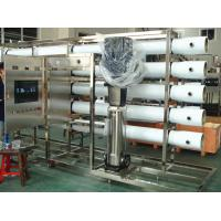 PET Glass Bottle RO Water Treatment Systems in Stainless Steel , Water Treatment Filter Manufactures