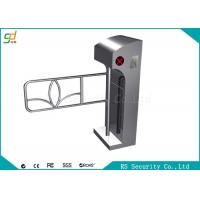 Pedestrian Turnstiles Swing Barrier Gate automatic Security Turnstyle Gate Manufactures