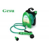 10 M Garden Water Hose Reel Set System / Plastic Small Garden Hose Reel Manufactures