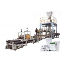 Full Auto Open Mouth Bagging Machine , Seed / Nuts Granule Packing Machine 10-50 Kg Manufactures