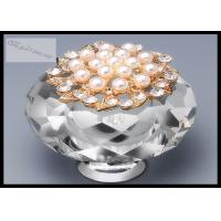 Blue Crystal Drawer Handles And Knobs Kitchen Cabinet Door Pulls Decoration Manufactures